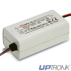 Fuente de alimentación LED APV-16 series 16W (5V, 12V, 15V, 24V)