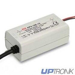 Fuente de alimentación LED APV-16E series 16W (5V, 12V, 15V, 24V)