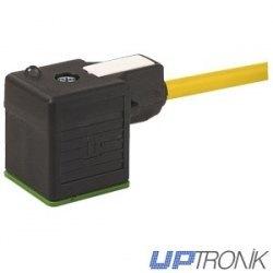 Cable Murr con conector Electrovalvula LED 5M 7000-18001-0160500