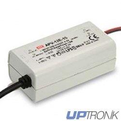 APV-12E Power supply LED series 12W (5V, 12V, 15V, 24V)