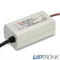 APV-16E Power supply LED series 16W (5V, 12V, 15V, 24V)