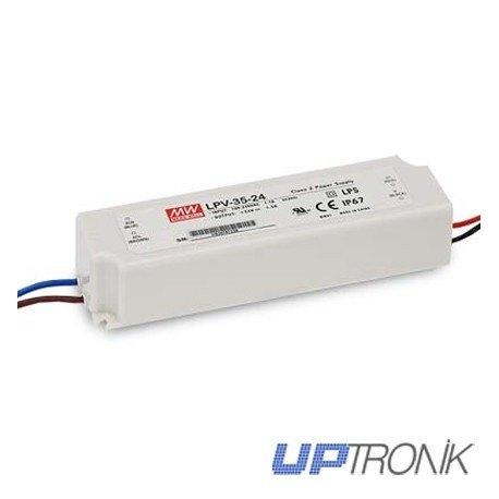 Fuente de alimentación LED LPV-35 series 35W (5V, 12V, 15V, 24V, 36V)
