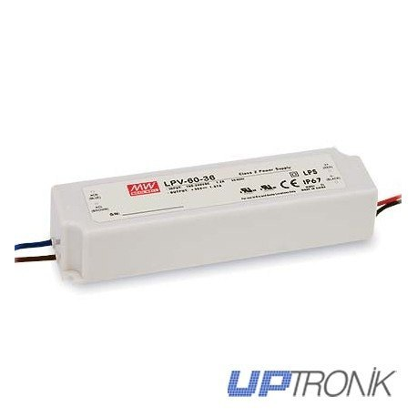 Fuente de alimentación LED LPV-60 series 60W (5V, 12V, 15V, 24V, 36V, 48V)