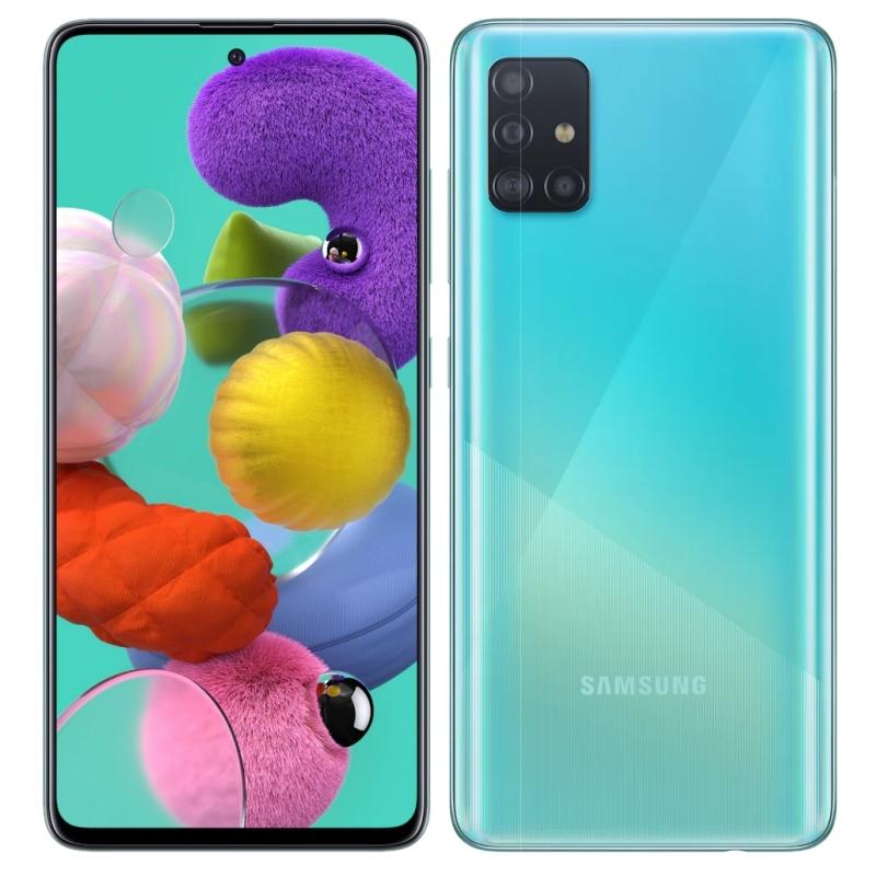 """Samsung Galaxy A51 SM-A515 6.5"""" 128GB 4GB Azul"""